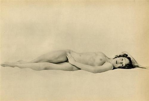 Laure Albin-Guillot (French, 1892 - 1962). Nude #18. Vintage photogravure. c1936