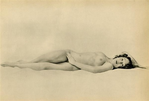 Laure Albin-Guillot (French, 1892 - 1962). Nude #18. Vintage photogravure. c1936