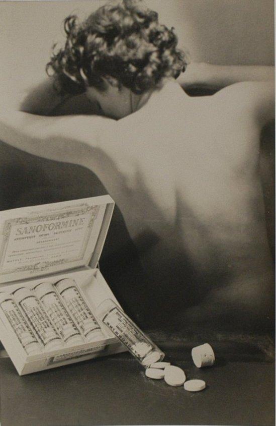 Laure Albin-Guillote Publicité pour Sanformine,1932