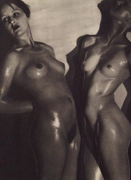 Maurice Beck. Comparaison. Vintage photogravure. c1933._e
