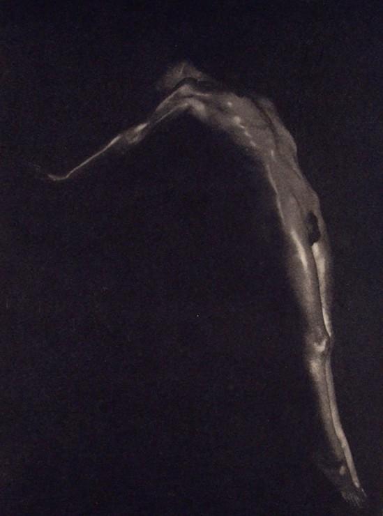 Maurice Beck. Plongeon-(photogravure). 1933. reprend une partie de la photo de 1925 réalisé avec helen Mac Gregor