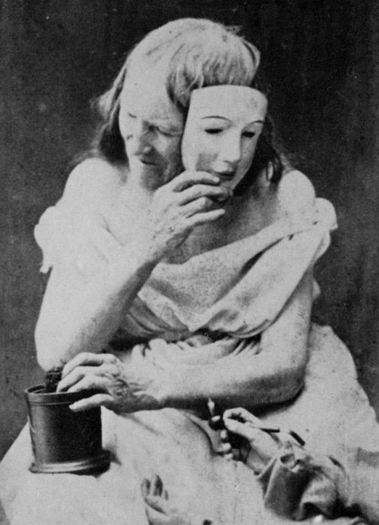 Oscar Gustave Rejlander- The Goddess Nicotina, 1856-59