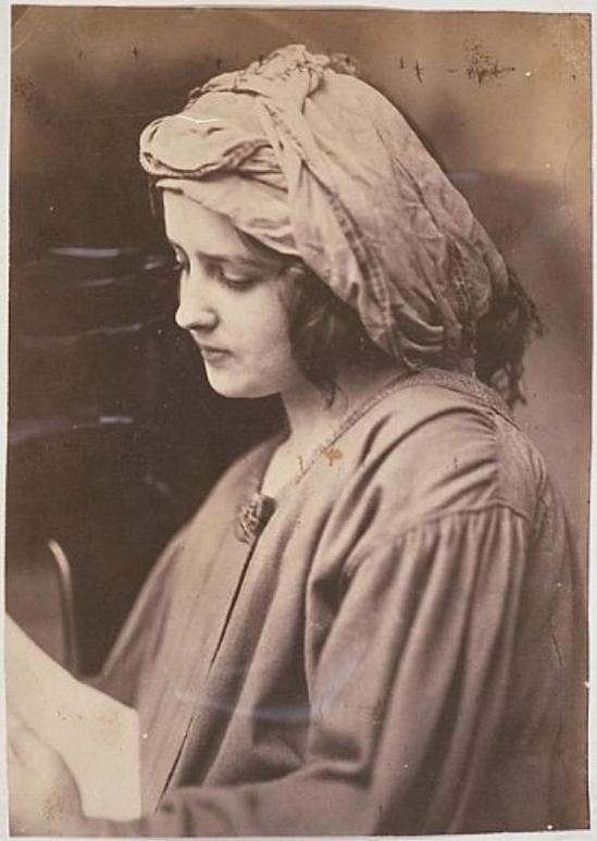 Oscar Gustave Rejlander Woman reading a letter , Wolverhampton 1860
