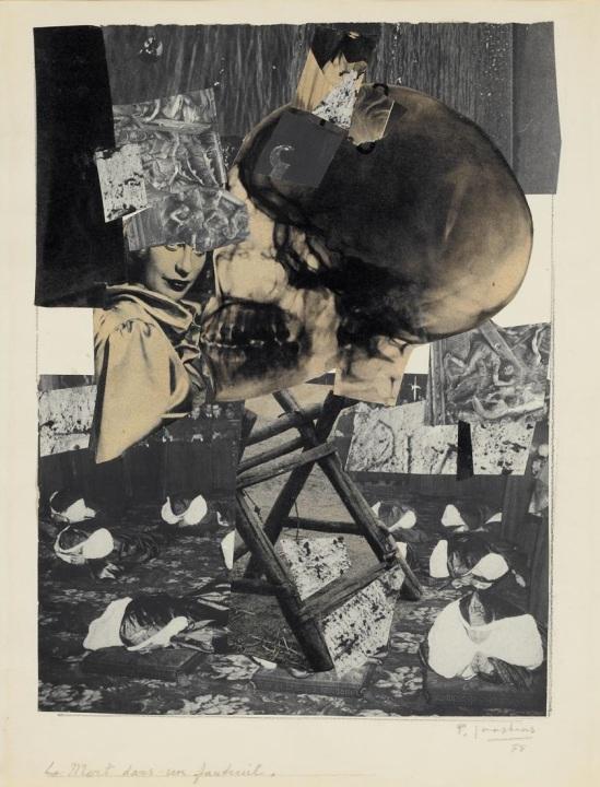 Paul Joostens - La Mort dans un fauteuil, 1955