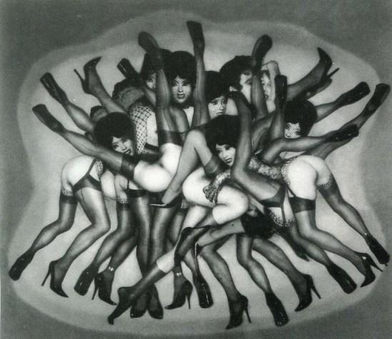 Pierre Molinier La grande mélée, 1969