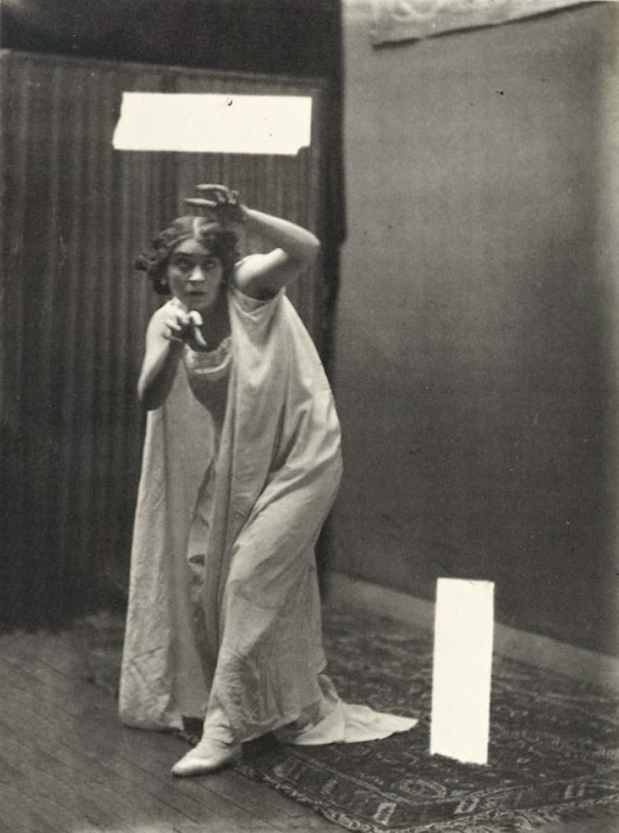 Robert Demachy- Hypnotisée,vers 1910