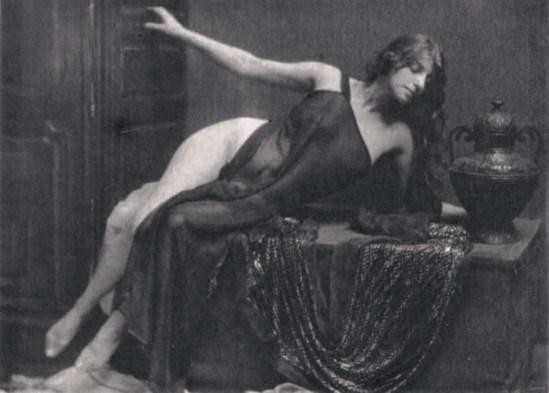 Robert Demachy-Nu allongé , vers 1910