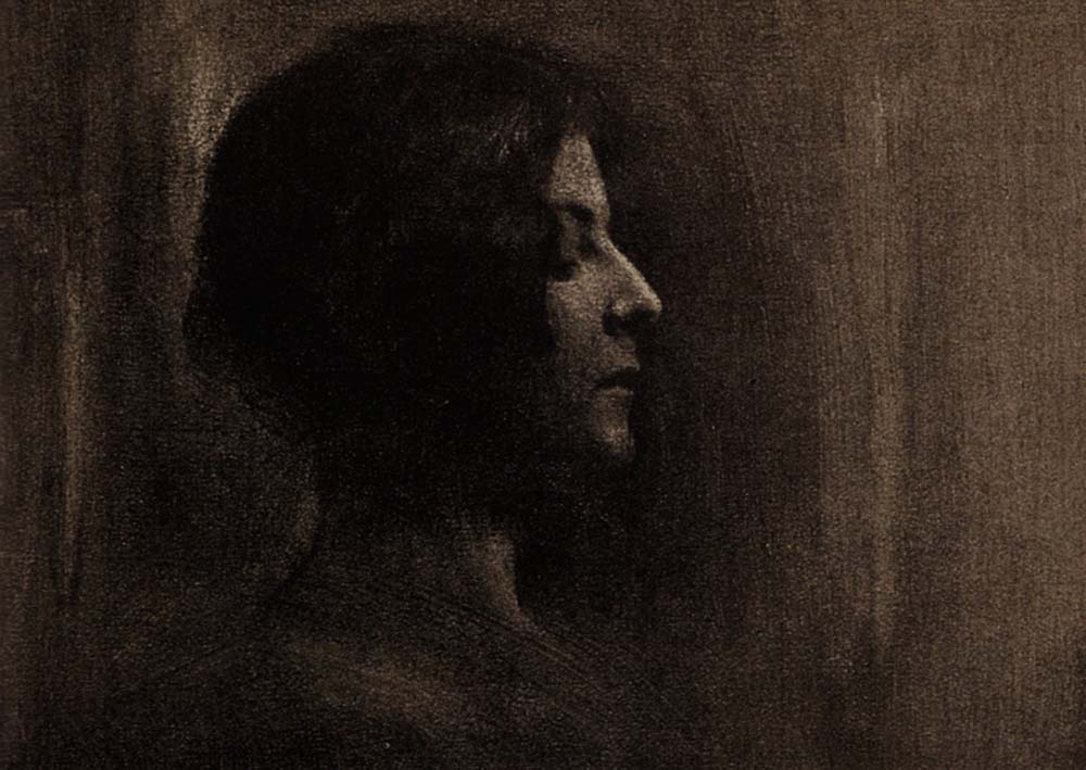 Robert Demachy- Severity, 1904, Gum bichromate print