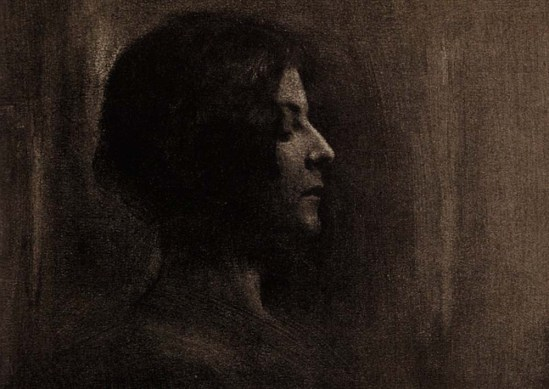 Robert Demachy- Severity, 1904, Gum bichromate print