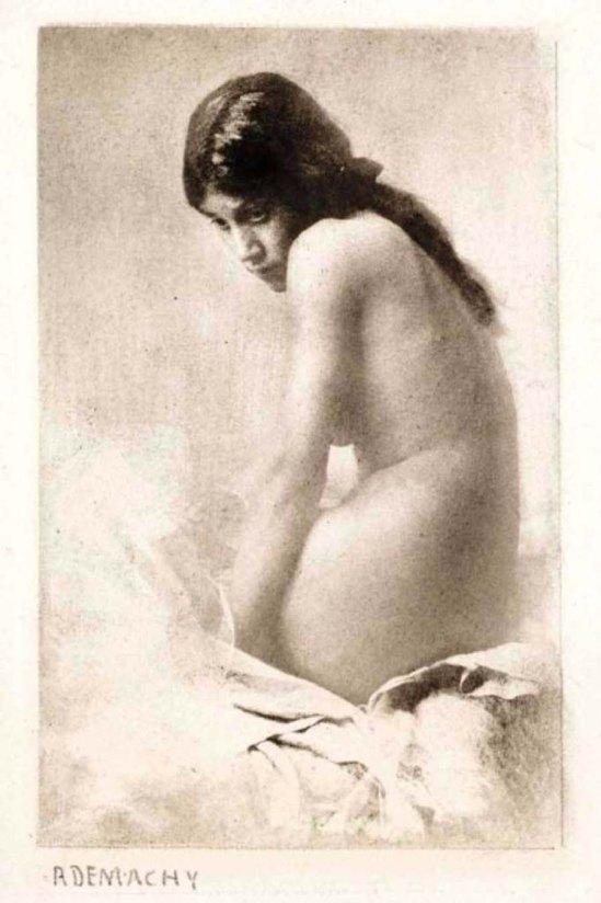 Robert Demachy- Timide 1905