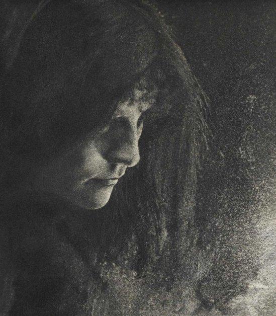 Robert Demachy- Tragic Figure , 1899 from La Photographie Est-Elle Un Art?