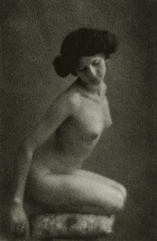 Robert Demachy- Untitled (nude), 1905 Gum bichromate print