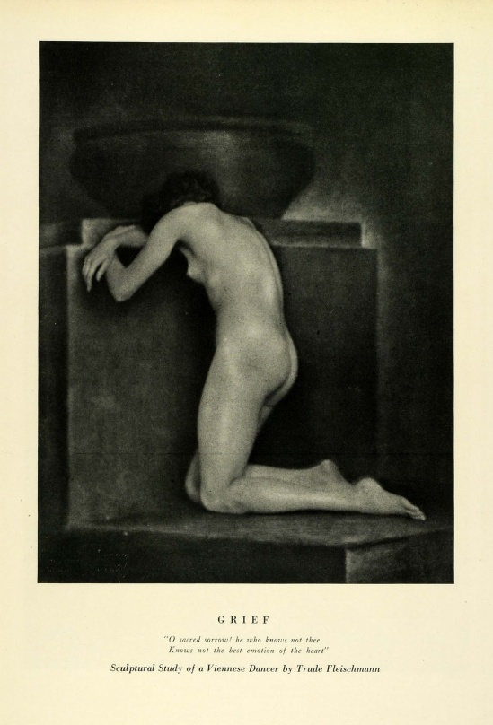 Trude Fleischmann - Grief, a study of a Viennese dancer , 1924
