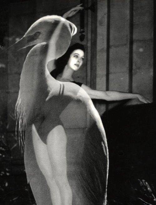 André Gibert- La femme oiseaux, 1960