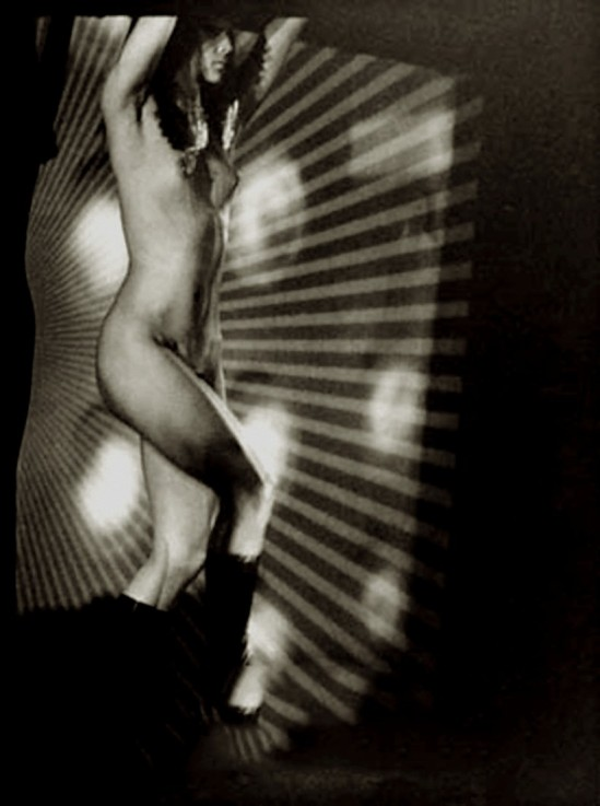 Václav Chochola -projection - Crazy Horse saloon, Paris, 1960-68