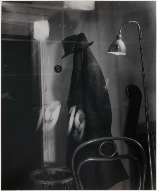 Václav Chochola-Vésak (Coat, lamp, reflections),1944