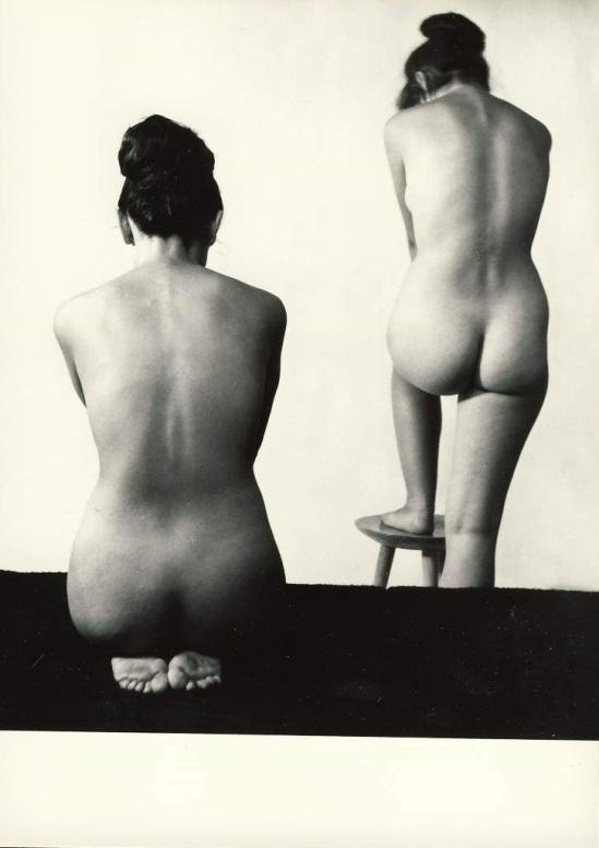 Zdeněk Virt - Akty, Prague. ( 15 tirages argentiques de nus féminins). Orbis, 1967 plate 4