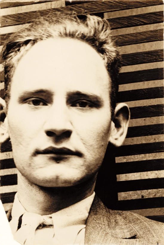 Anton Stankowski-self-portrait, Zürich, 1930