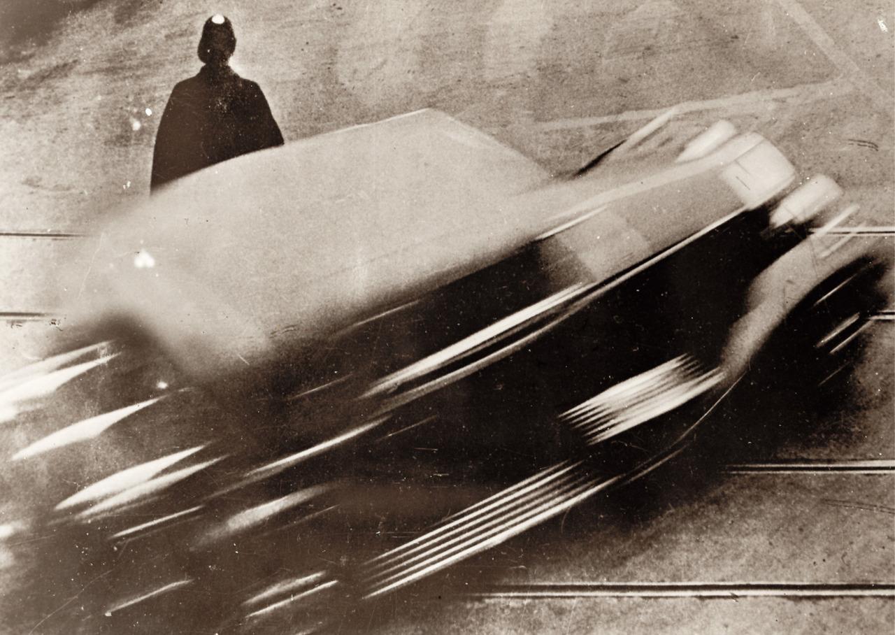 Anton Stankowski - Zeitprotokoll im Auto, Zürich, 1929