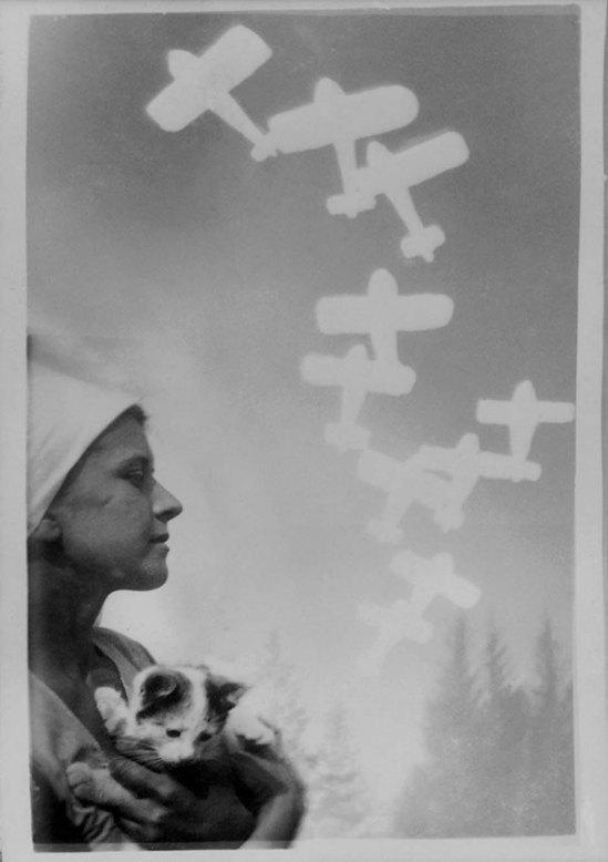 Domicelė Tarabildienė - fotomontažas , 1931
