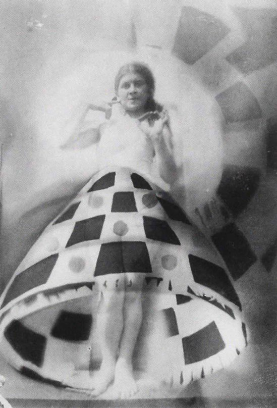 Domicelė Tarabildienė - Photomontage with Lillian Roth skirt, 1932