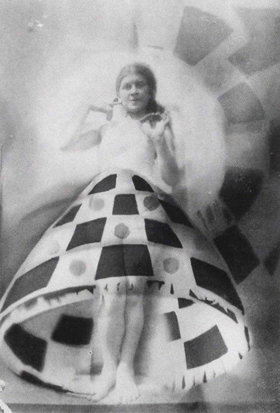 Domicelė Tarabildienė - Photomontage with Lillian Roth skirt, 1932