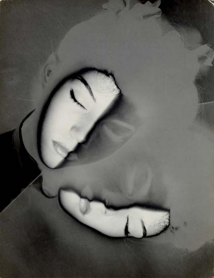 Erwin Blumenfeld-Au Miroir (Marova), 1942 1