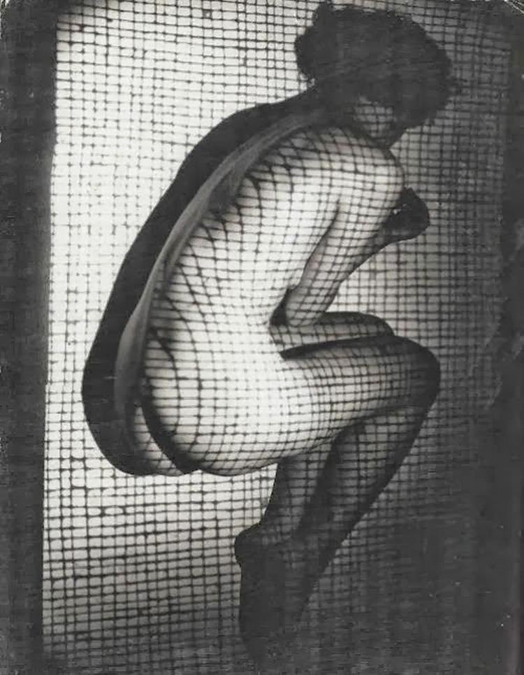 Erwin Blumenfeld- Nude, 1938