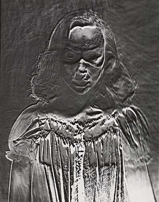 Erwin Blumenfeld - Solarized figure.1953