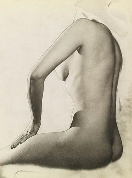 Erwin Blumenfeld Solarized Nude, 1943