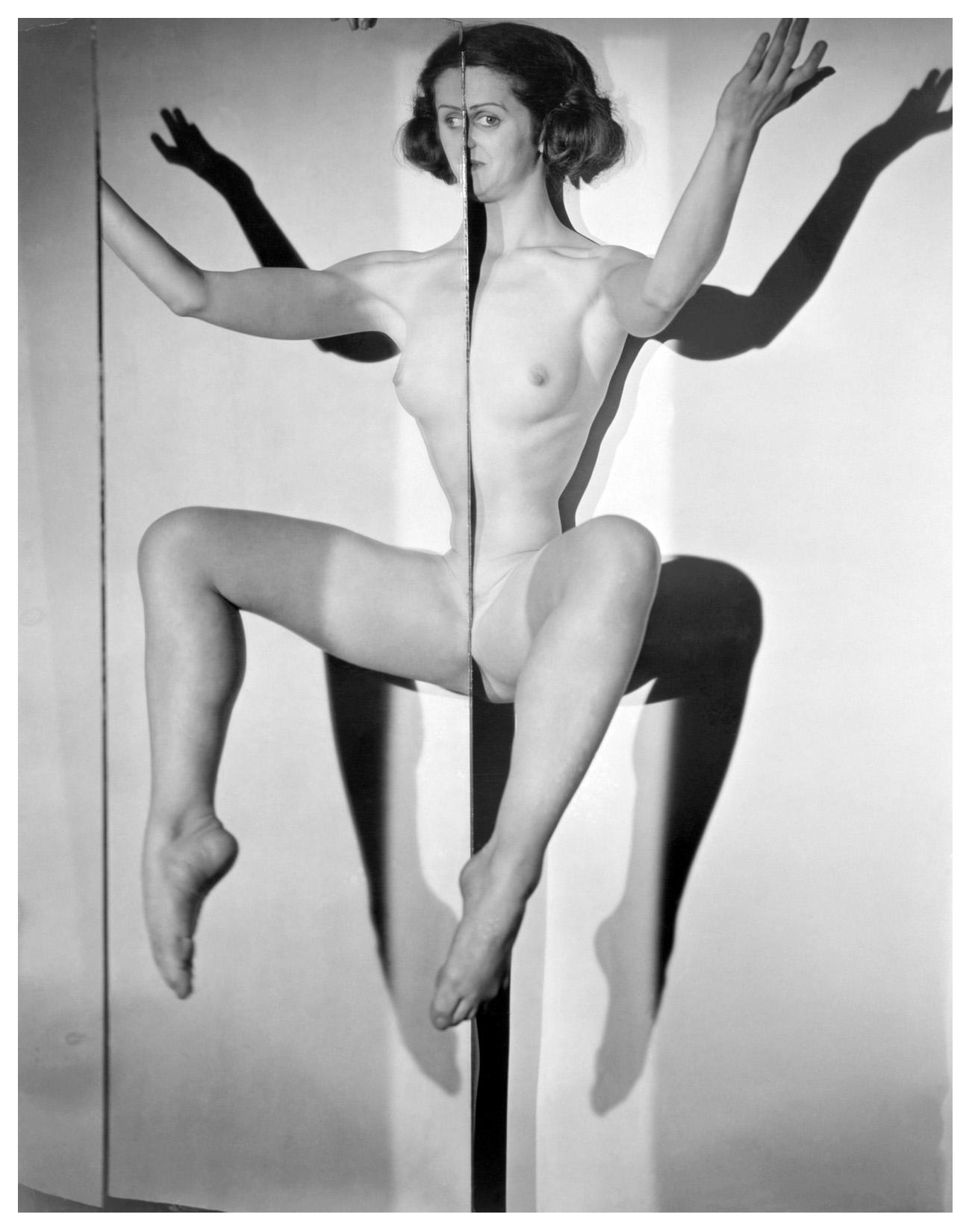 Erwin Blumenfeld-Yvette Blumenfeld, photo photomontage