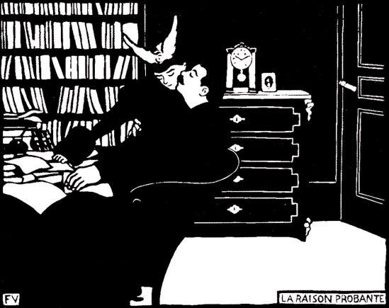 Félix Vallotton- La raison probante series Les Intimités, 1898