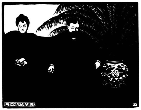 Félix Vallotton  L'Irréparable, from the series Les Intimités, 1898