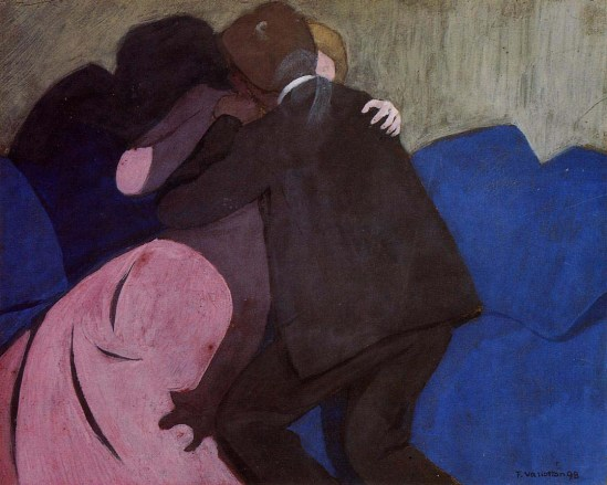 Félix Vallotton The kiss, 1898