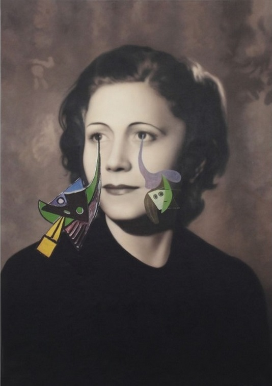 Francesco Vezzoli- from Olga Forever (Olga Picasso, ca. 1930), 2012 Courtesy of the artist and Almine Rech Gallery