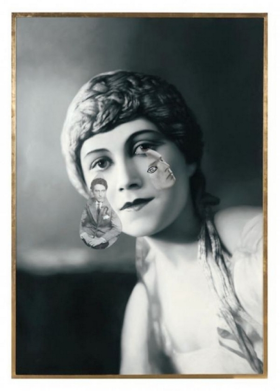 Francesco Vezzoli  Olga Forever (Olga Khokhlova en nymphe dans le ballet L'Après-midi d'un faune, 1916), 2012 Courtesy of the artist and Almine Rech Gallery
