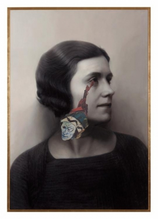 Francesco Vezzoli Olga Forever (Olga Picasso, ca. 1930), 2012 Courtesy of the artist and Almine Rech Gallery