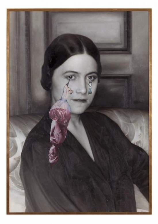 FrancescoVezzoli Olga Forever (Olga Picasso, Paris, ca. 1922), 2012 Courtesy of the artist and Almine Rech Gallery
