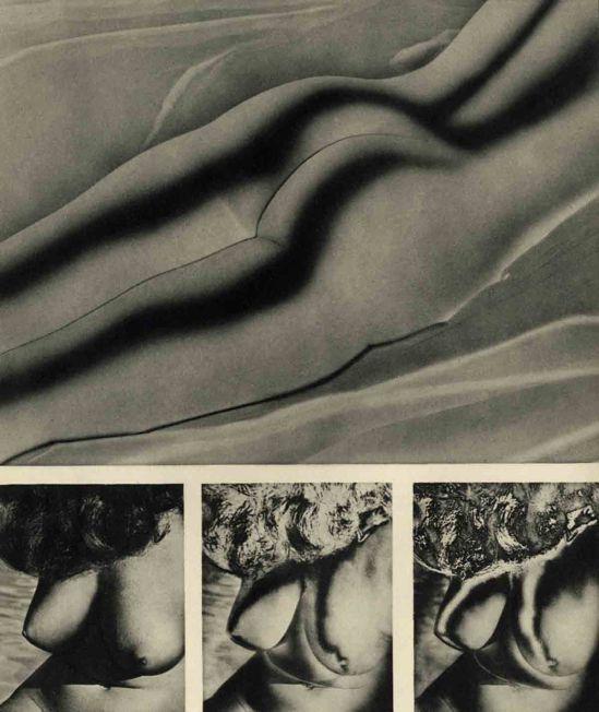 Fred Swartz- Fred Swartz Figure #1,  Greenwich Village Nudes, 1951