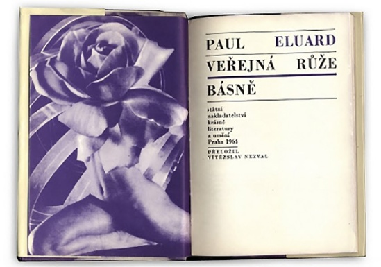 Karel Teige - Paul Eluard - La Rose publique