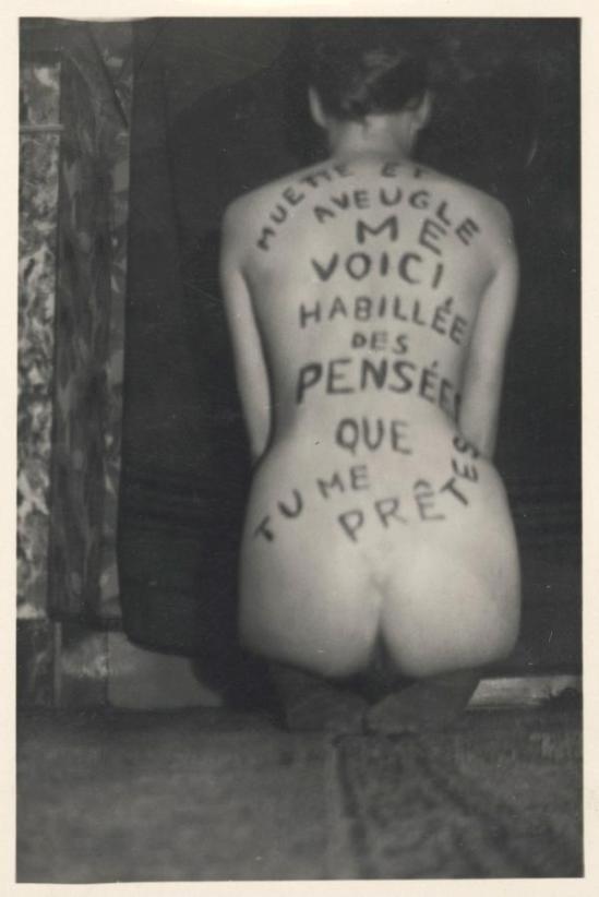 Marcel Marien - Muette et aveugle, 1945