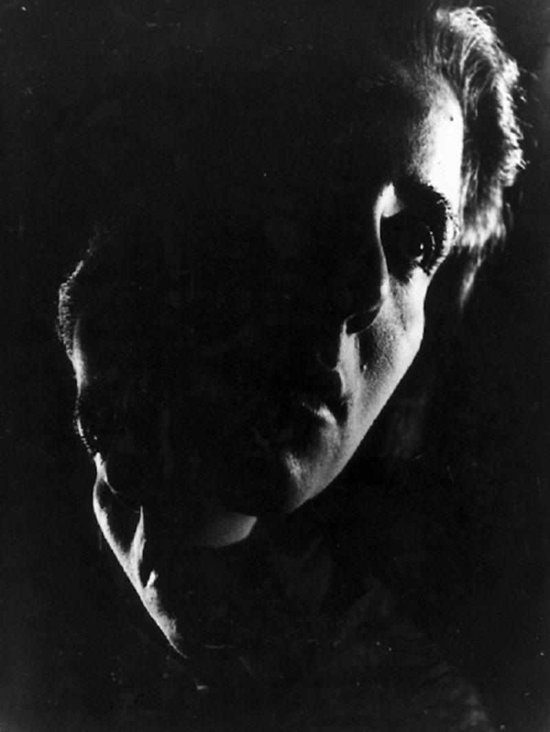 Wally Elenbaas - Double portrait,  1950's