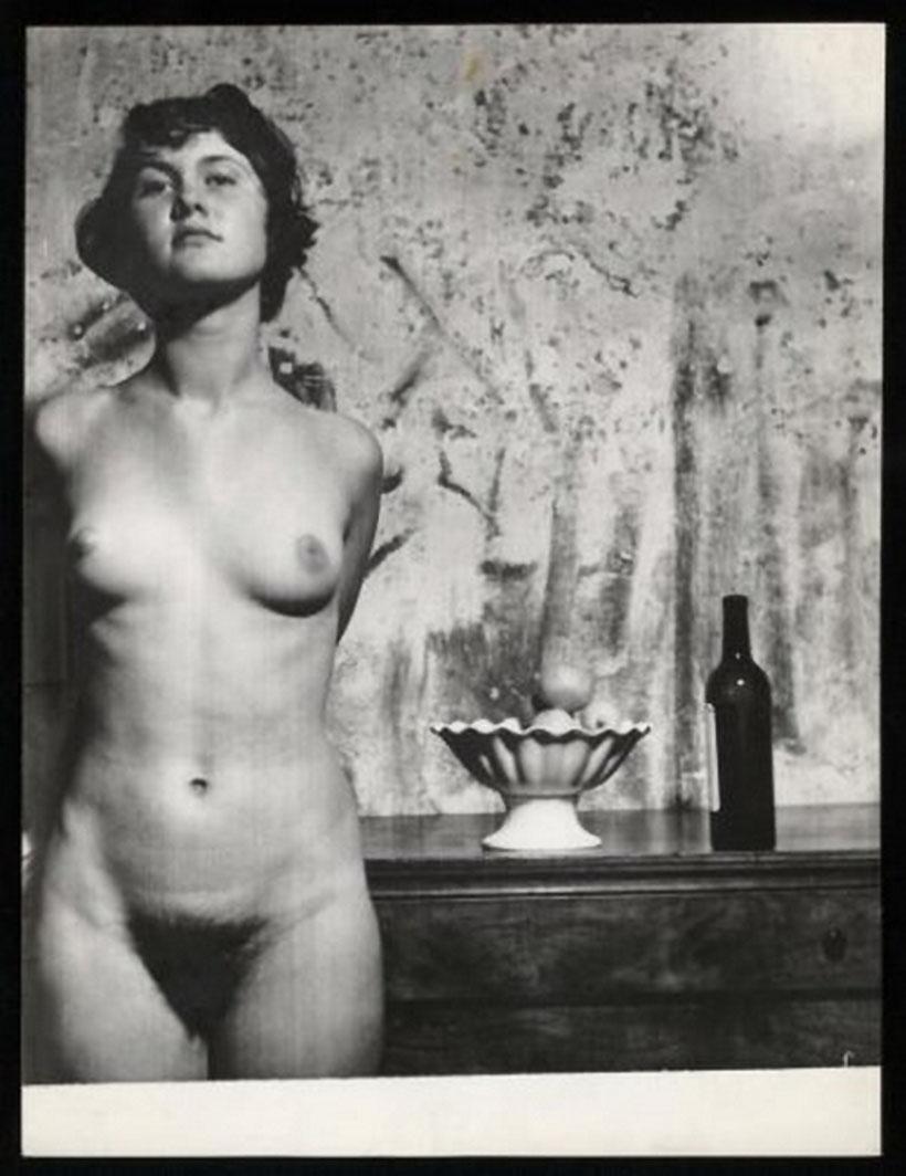 Wally Elenbaas - Naakt ,1953-1955