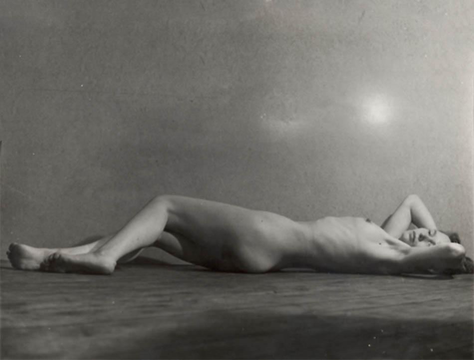Wally Elenbaas - -Liggend naakt ( nu allongé,1953-1955