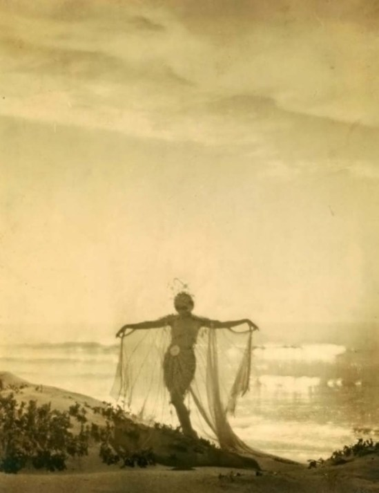 Arthur F. Kales-Lillian Powell in costume of Julnar of the Sea, 1919