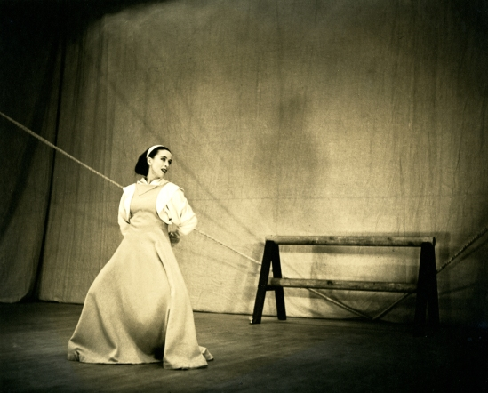 Barbara Morgan - Martha Graham - Frontier, 1930s