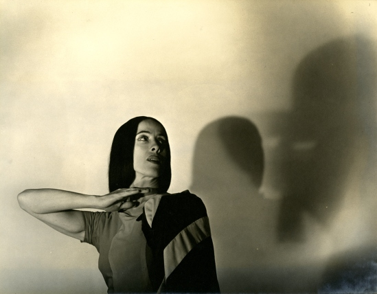 Barbara Morgan -  Martha Graham - Indian from American Document, 1930s