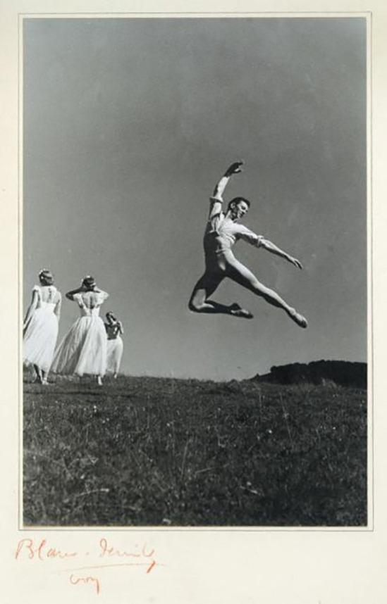 Blanc et Demilly- Danseur, danseuses, vers 1935-1939