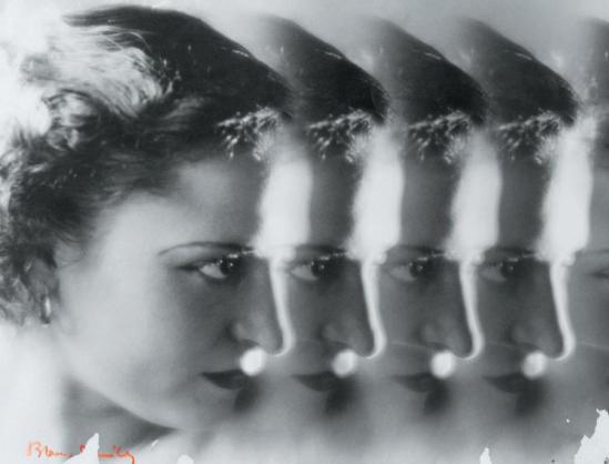 Blanc et Demilly-Les visages, vers 1935 Photomontage