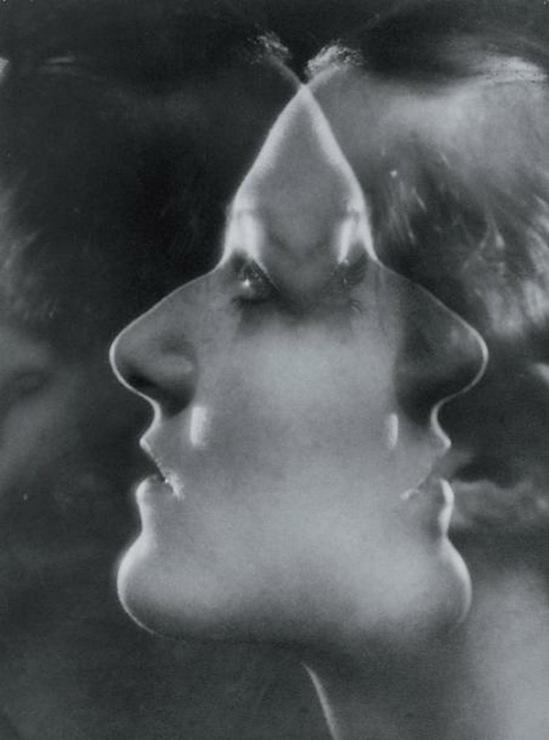 Blanc et Demilly-L'extase, vers 1935 Photomontage